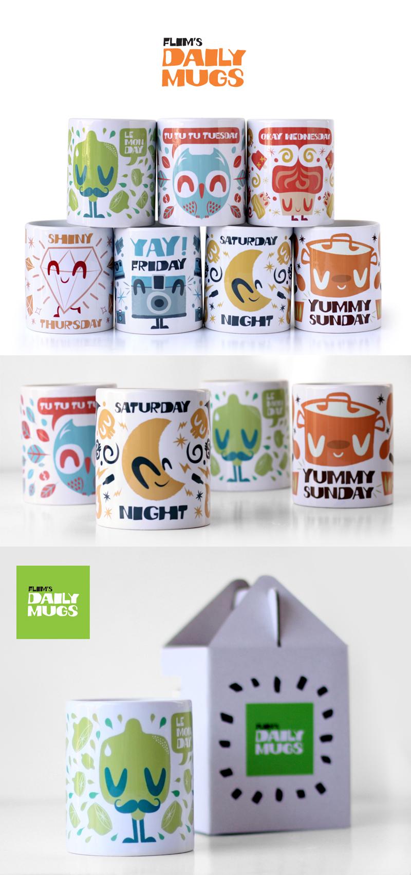 Daily mugs